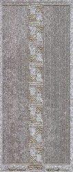 Micro-Glittersticker-kleine Ecken/glatte Ränder-silber/gold-7004gsg