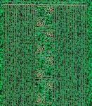 Zier-Sticker-Bogen-kleine Ecken und Ränder holo-grün-7004hogr