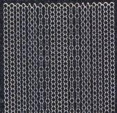 Micro-Glittersticker-7010gschws-Perlen-Ränder-schwarz/silber