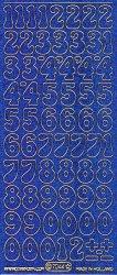 Micro-Glittersticker-Zahlen-blau/gold-7014gblg