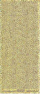 Zier-Sticker-Bogen-kleine Punkte-holo/gold-7018hog