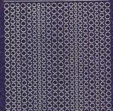 Micro-Glittersticker-kleine Punkte-lila/silber-7018glis