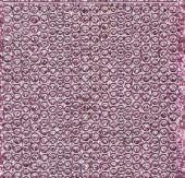 Micro-Glittersticker-kleine Punkte-rosa/silber-7018gros