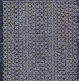 Micro-Glittersticker-kleine Punkte-schwarz/silber-7018gschws