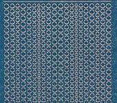 Micro-Glittersticker-kleine Punkte-türkis/silber-7018gtüs