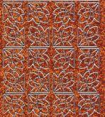 Micro-Glittersticker-Ecken-orange/silber-7026gors