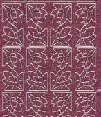 Micro-Glittersticker-Ecken-rosa/silber-7026gros