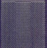 Micro-Glittersticker-verschiedene Ränder-lila/silber-7034glis