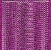 Micro-Glittersticker-verschiedene Ränder-pink/silber-7034gpis