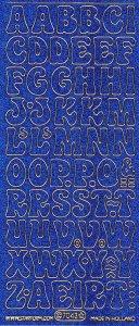 Micro-Glittersticker-ABC-Buchstaben-blau/gold-7043gblg