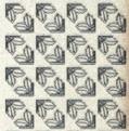 Zier-Sticker-Bogen -kleine Ecken -holo-gold-7052hog