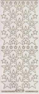 Micro-Glittersticker-Sterne-transparent-gold-7077gtrg