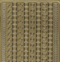 Zier-Sticker-Bogen-Hardanger-Baby-Herz-707g