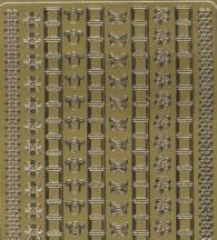 Zier-Sticker-Bogen-Hardanger-Blume-708g