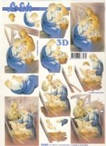 3D Bogen-Etappenbogen-Heilige Familie-777077
