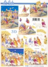 3D-Etappen-Bogen-Heilige drei Könige-777083