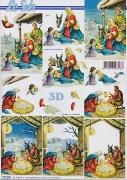 3D Bogen-Etappenbogen-heilige Familie-777201