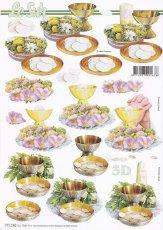 3D Etappen-Bogen-Christliche Motive-Abendmahl-777242