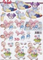 3D Etappen-Bogen -Baby und Kleinkind-777289