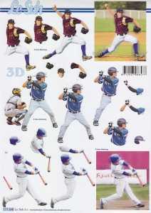 3D Etappen-Bogen-Sport-Baseball-777390