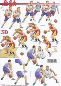 3D Etappen-Bogen-Sport- Basketball-777503