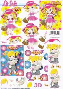 3D Etappen-Bogen -Kinder-Mädchen-LeSuh-777508