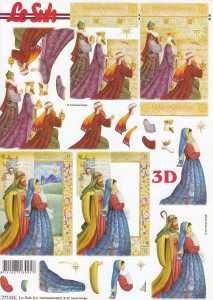 3D-Etappen-Bogen-Heilige drei Könige - 777515