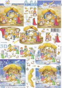 3D-Etappen-Bogen-Heilige Familie im Stall-kindlich-777516