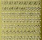 Zier-Sticker-Bogen-0815g-Zahlen-gold