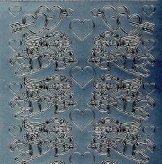 Zier-Sticker-Bogen-Engel/Amor-817s