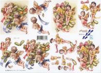3D-Etappen-Bogen-Nostalgische Engel-8215119