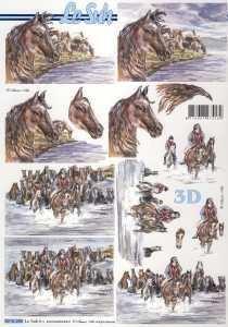3D Etappen-Bogen-Wild Pferde-8215285