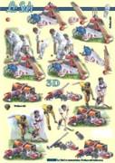 3D Etappen-Bogen-Cricket-8215295