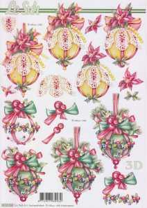 3D Bogen-Etappenbogen-weihnachtliche Dekokugel-8215502