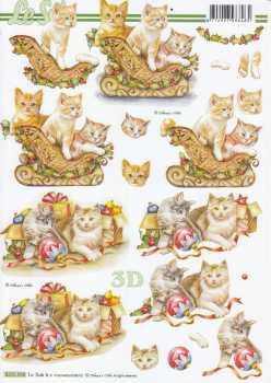 3D-Etappen-Bogen-Kätzchen spielen- 8215558