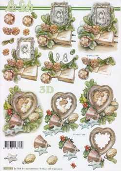 3D Etappen-Bogen-8215563-nostalgische Bilderrahmen-weihnachtlich