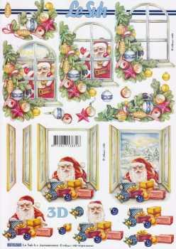 3D Etappen-Bogen-8215565-Nikolaus am Fenster