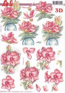 3D-Etappen-Bogen-Blumen -Amaryllis- 8215572