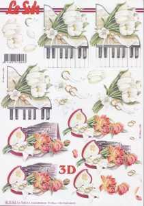 3D Etappen-Bogen- Hochzeit - Musik liegt in der Luft 2 - 8215661