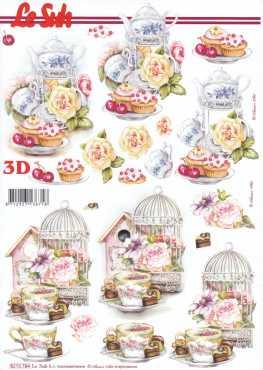 3D Etappen-Bogen-Tea Time-E 8215784