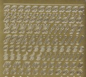 Zier-Sticker-Bogen-Alphabet-abc-Schreibschrift 2 -0825g