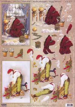 Reddy-3D Stanzbogen - 83202-Peggy Abrams-December 24th. / The Journey