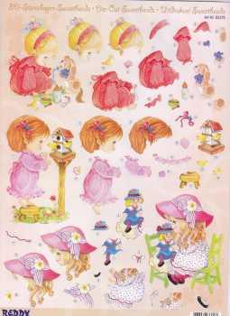 Sweetheads-3D Stanzbogen-Nr.83376-Vogelhaus