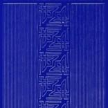 Zier-Sticker-Bogen-kleine Ecken und Ränder -blau-842bl