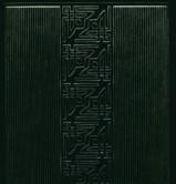 Zier-Sticker-Bogen-0842dgr-kleine Ecken und Ränder -dunkelgrün