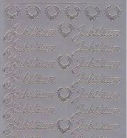 Zier-Sticker-Bogen-Jubiläum-silber-8436s