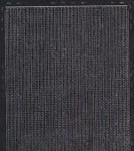 Zier-Sticker-Bogen-8457schw-dünne feine Ränder-schwarz
