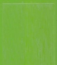 Zier-Sticker-Bogen-dünne feine glatte Ränder-hellgrün-8458hgr