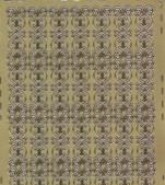 Zier-Sticker-Bogen-8481g -verschnörkelte Ränder-gold