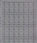 Zier-Sticker-Bogen -verschnörkelte Ränder-silber-8481s